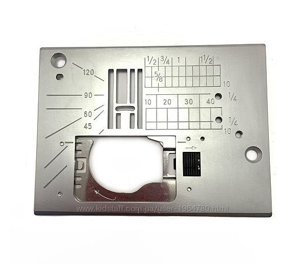 Игольные пластины для швейных машин Janome 608 QDC и MC 7700QCP