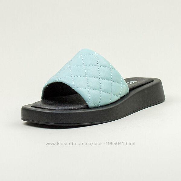 Шлепанцы Teona цвет голубой есть чёрные и белые