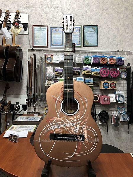 2732 Гитара с Росписью Северное Сияние