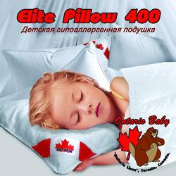 Детские подушки Classic Pillow и Elite Pillow ТМ Ontario Baby