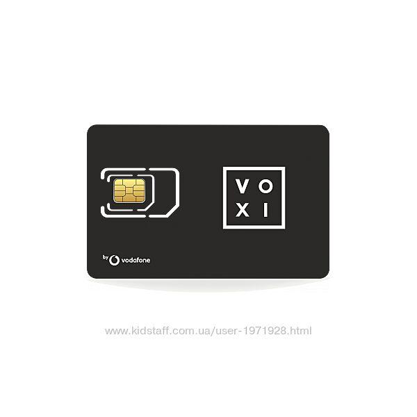Сим карта Voxi от Vodafone в роуминг. Цена 250 грн. VOXI от Vodafone