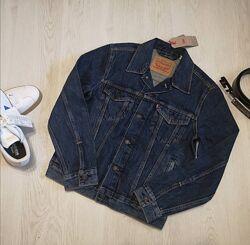 Мужская джинсовая куртка, джинсовка Levis левайс S оригинал Сша