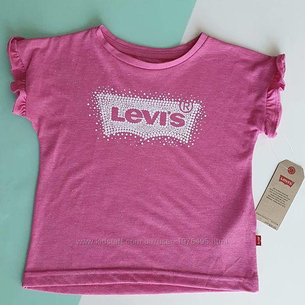 Футболка Levis с короткими рукавами и логотипом levis 104-110
