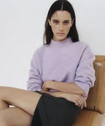Свитер с шерстью альпака от Zara