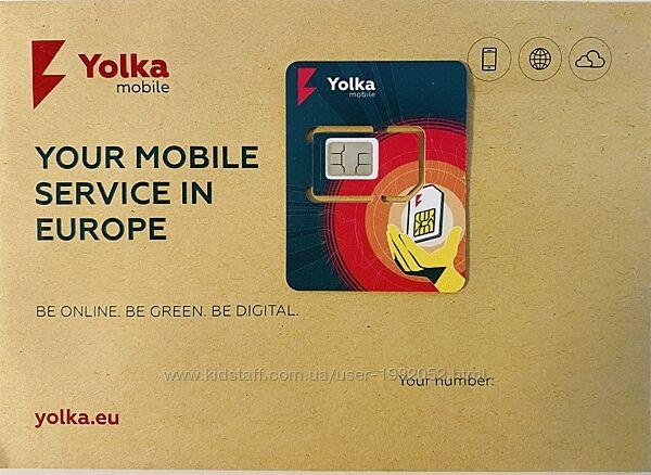 sim карта Yolka Mobile