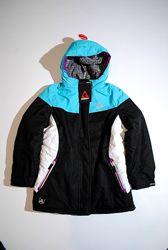 Куртка на девочку 10 11 12 лет бренд GERRY США теплая яркая с капюшоном