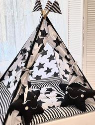 Детский игровой домик, вигвам, палатка, шатер, шалаш, вігвам дитячий