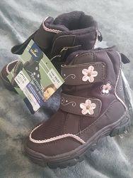 новые термо-ботинки зимние для девочкиГермания