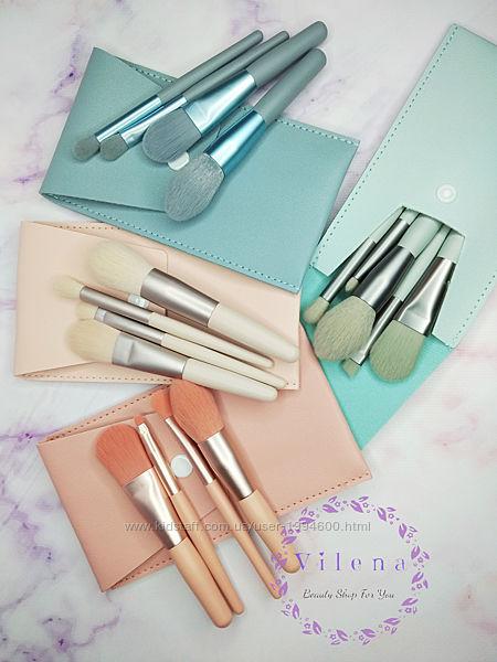 Набор кистей для макияжа 8 шт