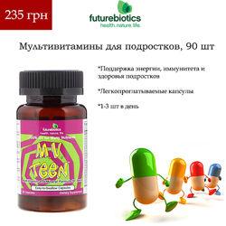 M. V. Teen Мультивитамины для Подростков 90 капсул