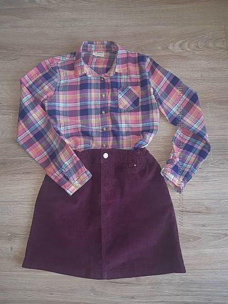 Рубашка девочке р. 134-140