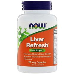Now Foods, Liver Refresh, 90 растительных капсул