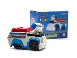 Щенячий патруль Paw Patrol Робопёс машинка подвижные колёса голова не выним