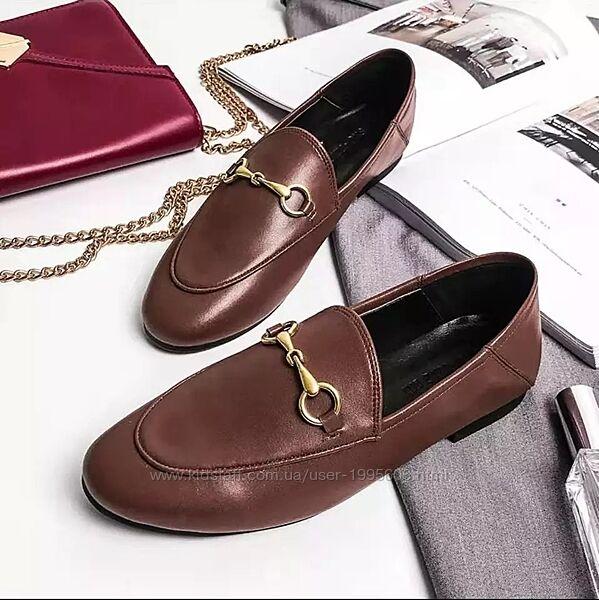 Крутые туфли лоферы в стиле Massimo Dutti
