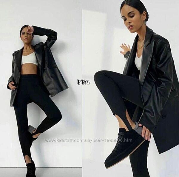 Ультрамодные лосины со штрипками в стиле Zara