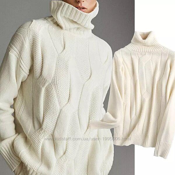 Вязаный свитер Massimo Dutti