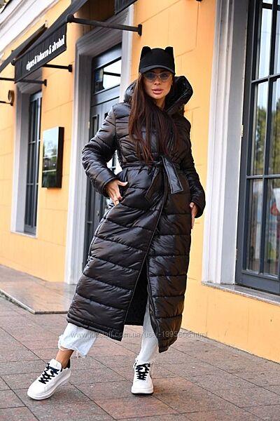 Крутое стеганое пальто зима/осень