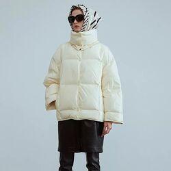 Люксовый пуховик куртка парка