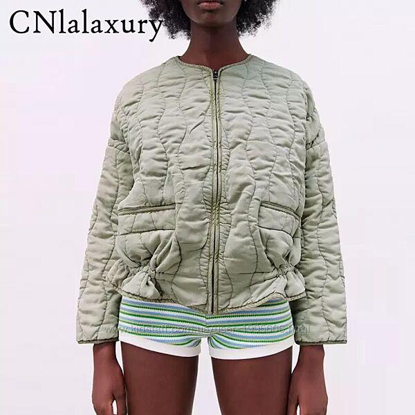 Стёганая куртка Zara