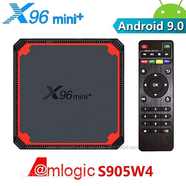 Новинка TV Box X96 Mini Plus на процессоре S905W4 Android 9.0
