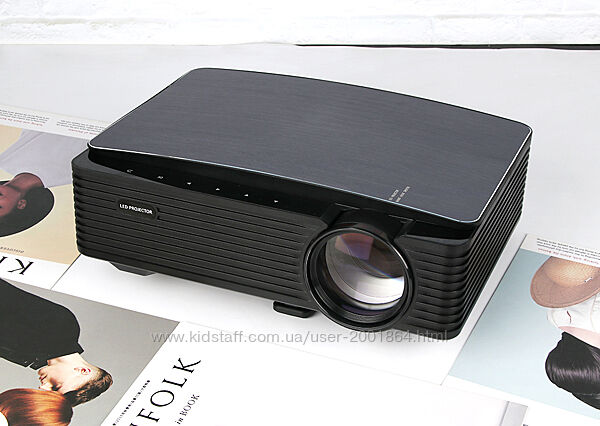 AAO YG651 Новый FULL HD LED проектор 7000 люмен Мультиэкранная версия