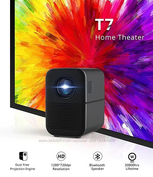 TouYinger T7K Новый HD LED проектор и  Bluetooth колонка в одном