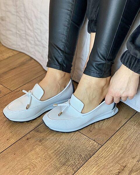 Кожанные женские туфли, про-во Турция в наличии все размеры