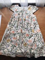 Милое летнее детское платье