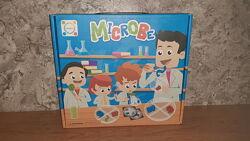 Микроб детская игра с пинцетом.