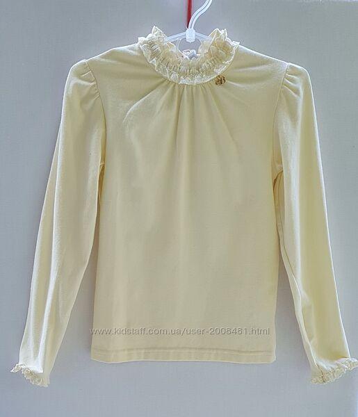 Трикотажные блузы длинный и короткий рукав ТМ Smil
