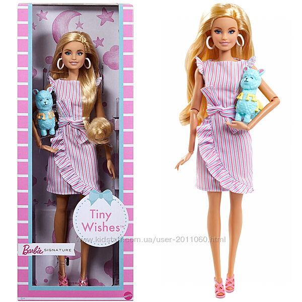 Лялька Барбі Тіні колекційна Barbie Tiny Wishes Doll з ламою