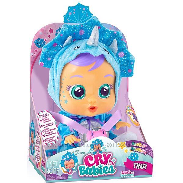 Інтерактивна лялька пласка Cry Babies Tina Doll оригінал