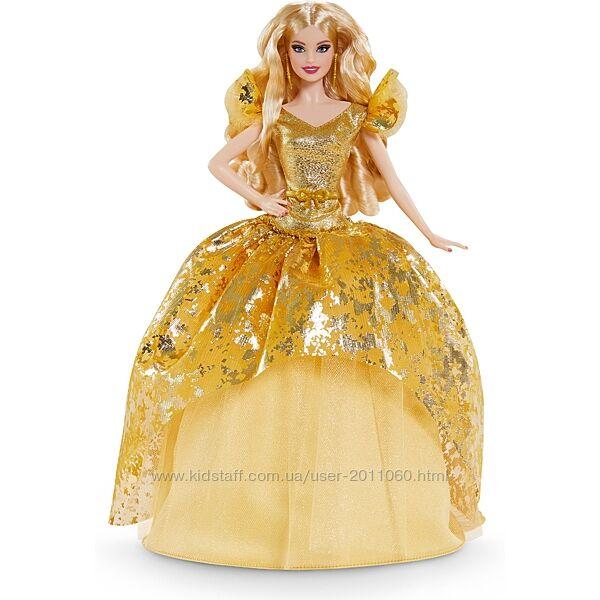 Лялька Барбі колекційна Святкова Barbie Signature Holiday 2020 Doll, Blonde
