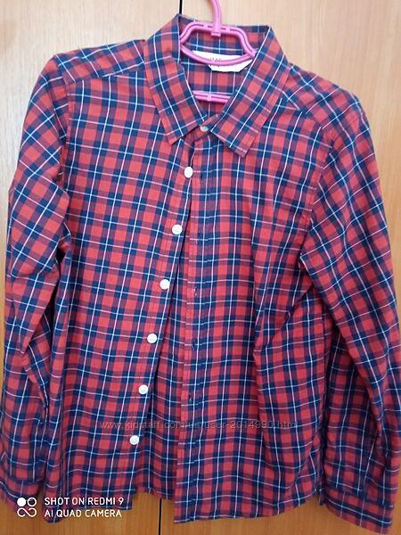 Рубашка для мальчика H&M 128-134,134-140,140-146