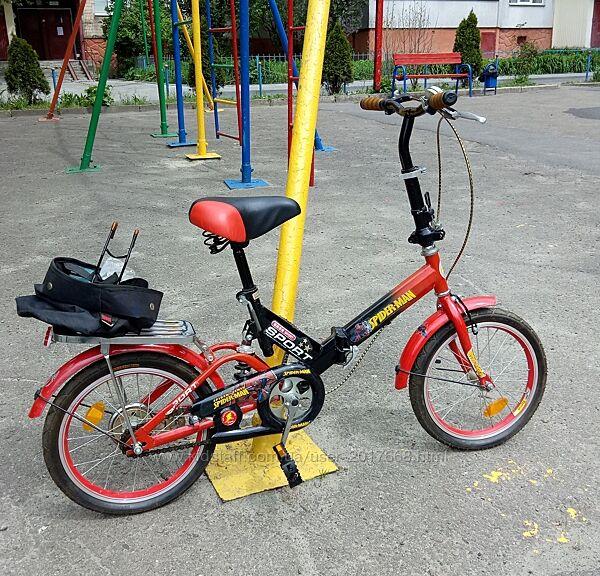 Велосипед складний 16 дитячий
