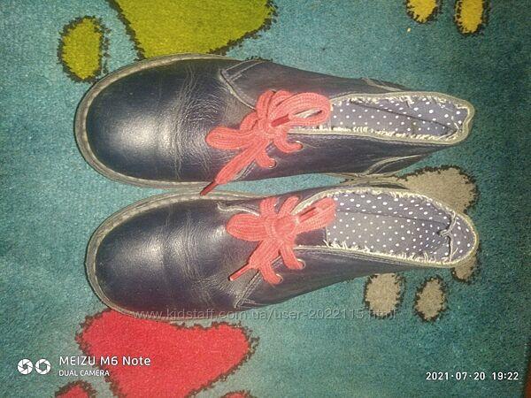 Демисезонные ботинки benetton 34р.