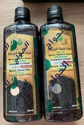 Масло черного тмина. Египет. Сирийское Первого холодного отжима. 500 мл.