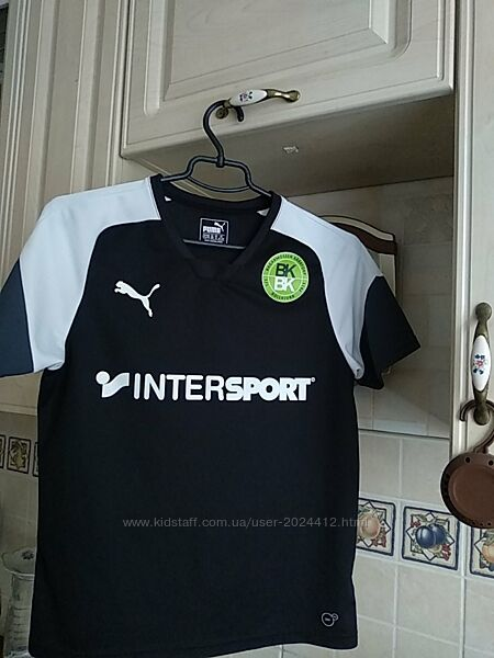 Тренировочный джерси, футболка football esito 4  puma. оригинал.