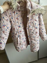 Демисезонная куртка на девочку, H&M, размер 9-10 лет
