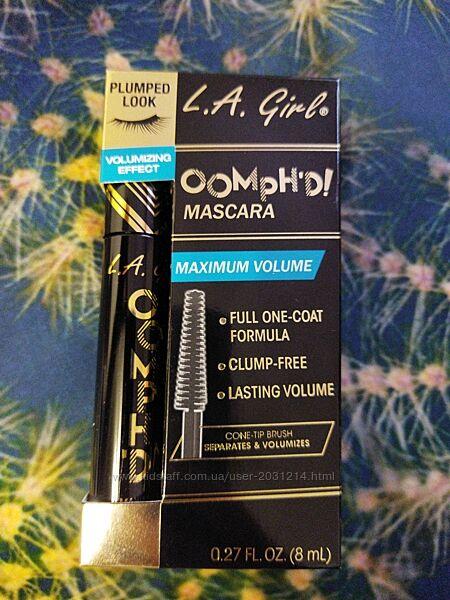 Тушь для ресниц Oomph&acuted Mascara, оттенок Super Black, 8мл