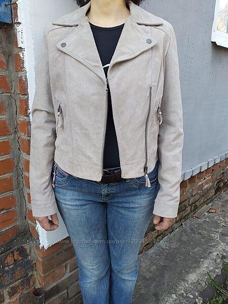 Куртка косуха, натуральный замш.