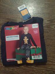 Детская пижама 110/116 см lupilu