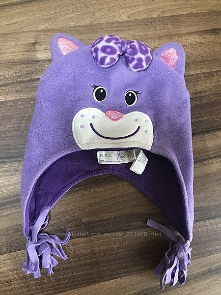 Красивая тёплая шапочка 3-5лет Childrensplace
