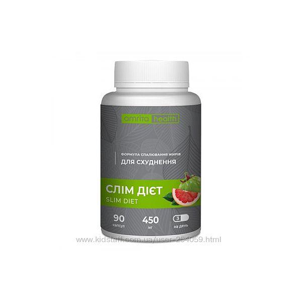 Слим диет 90кап. натуральный и эфективный комплекс для похудения