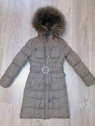 KIKO Зимнее пуховое пальто р.146