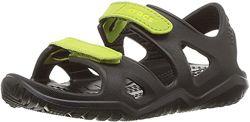Детские босоножки Crocs Swiftwater River Sandal сандалии крокс с9-j3