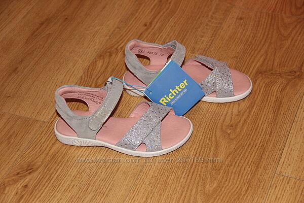 Детские босоножки Richter 33 р. Рихтер нарядные сандалии новые