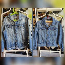 Джинсовая куртка для мальчика 7-8 лет и 10 лет