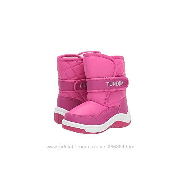 Зимние сапоги Tundra Boots Kids Baby Girl&acutes Ice Cap, US10