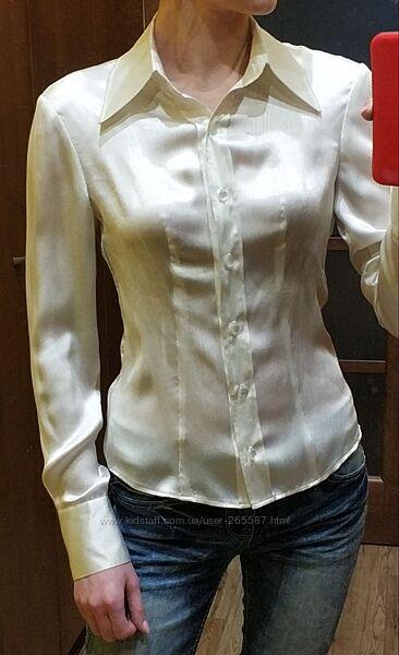 Женская блузка цвет айвори или белого жемчуга